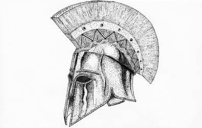 Spartan helmet by maxturbochel