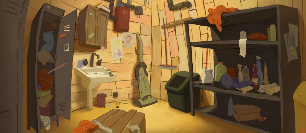Janitors Closet By Johnfrusciante92 ...
