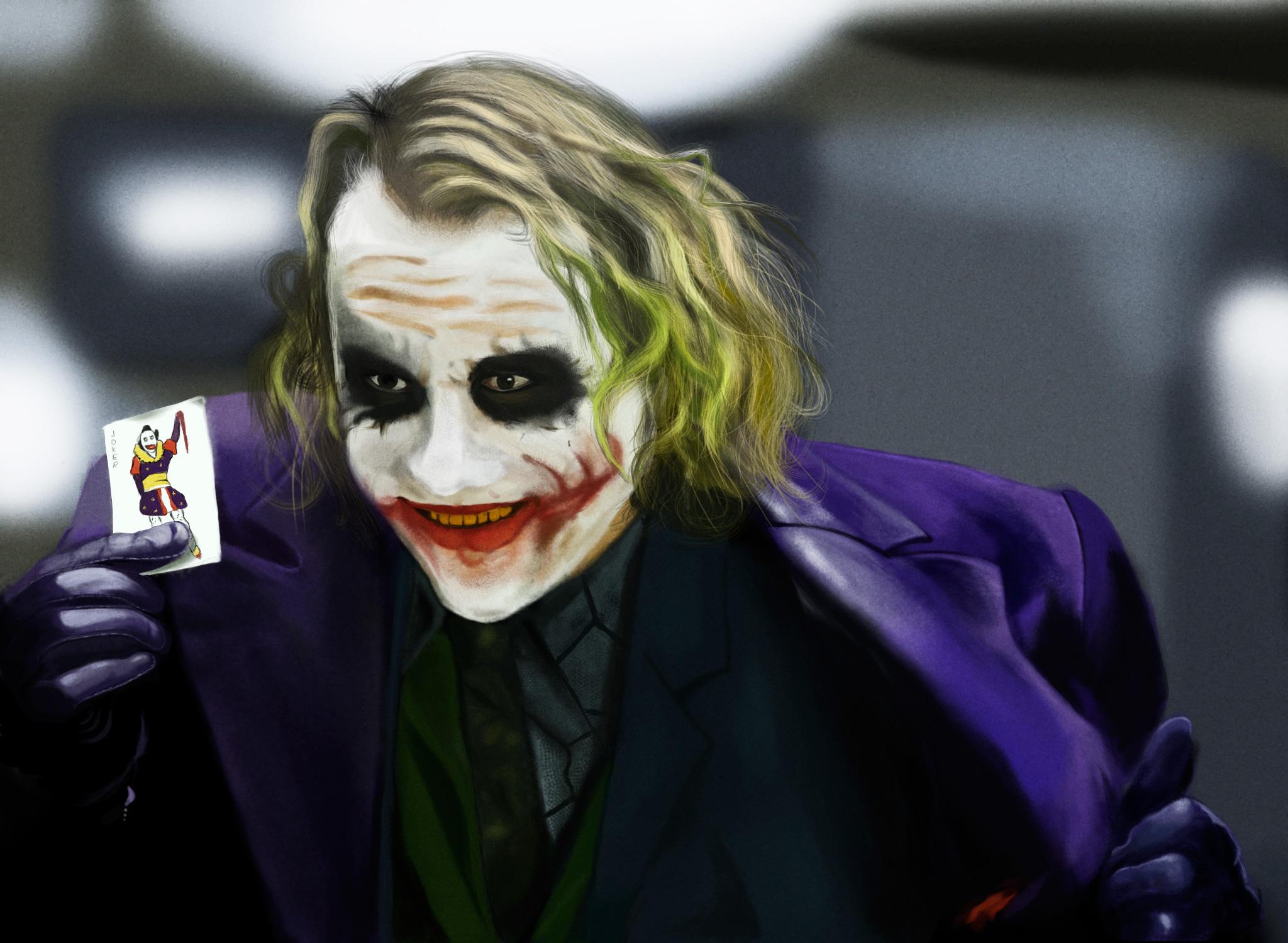 Joker Heath Ledger Face Paint