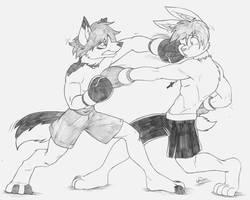 Devo vs. Blackjack by Drawing-4Ever