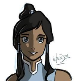 Korra by Drawing-4Ever