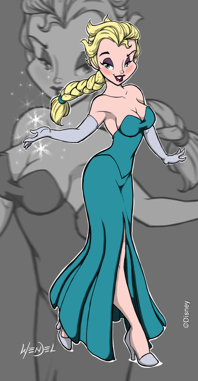 Elsa. by Drawing-4Ever