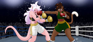 The 5th poll's match: Deborah vs Majin Android 21.