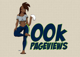 400k Pageviews. by Drawing-4Ever