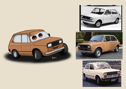 Car-Toons #001: FIAT 147.