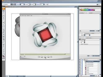 3d logo design - Logo tutorial by p1p1p1