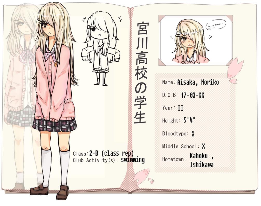 MH: aisaka Noriko by meibellum