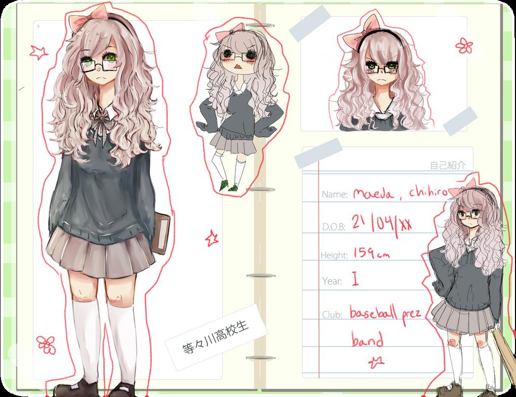 TH : Maeda Chihiro by meibellum