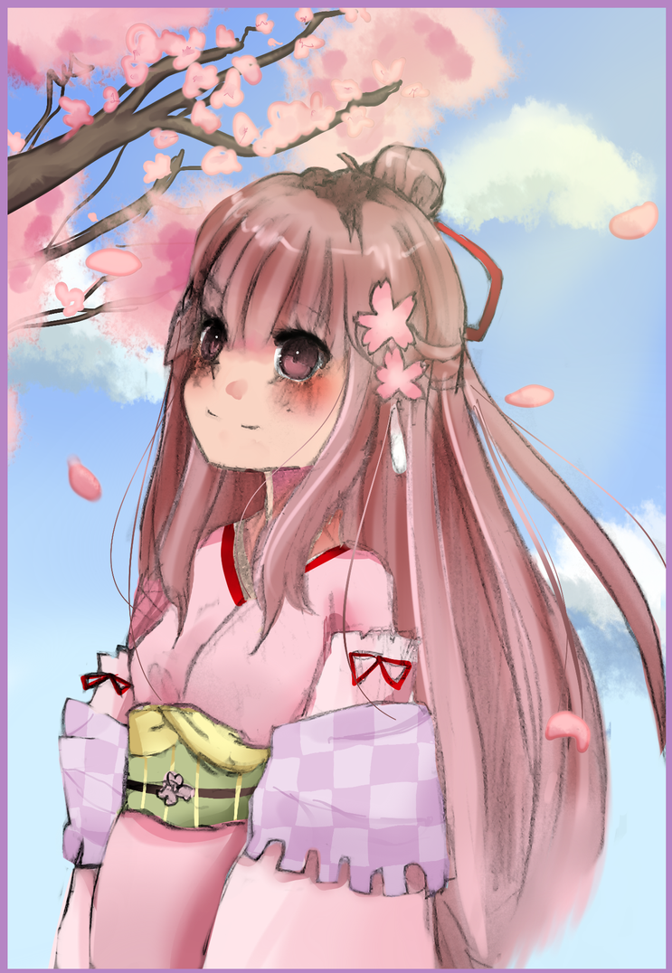 EE : Cherry Blossoms by meibellum