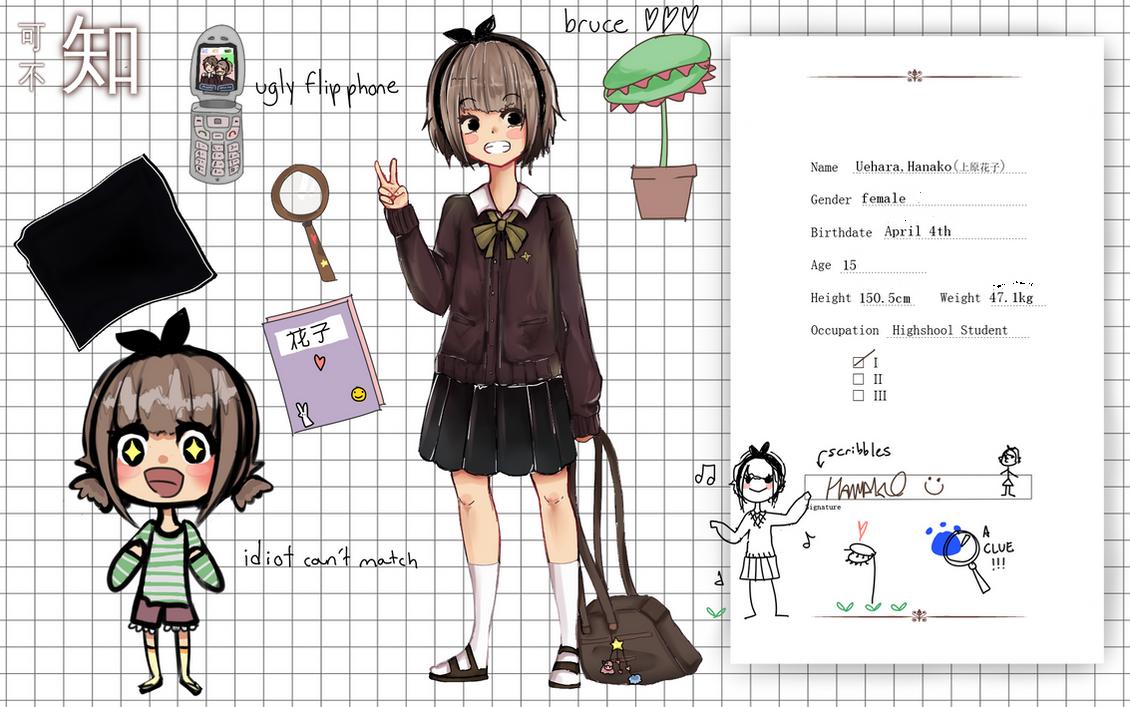 FnS : Uehara Hanako by meibellum