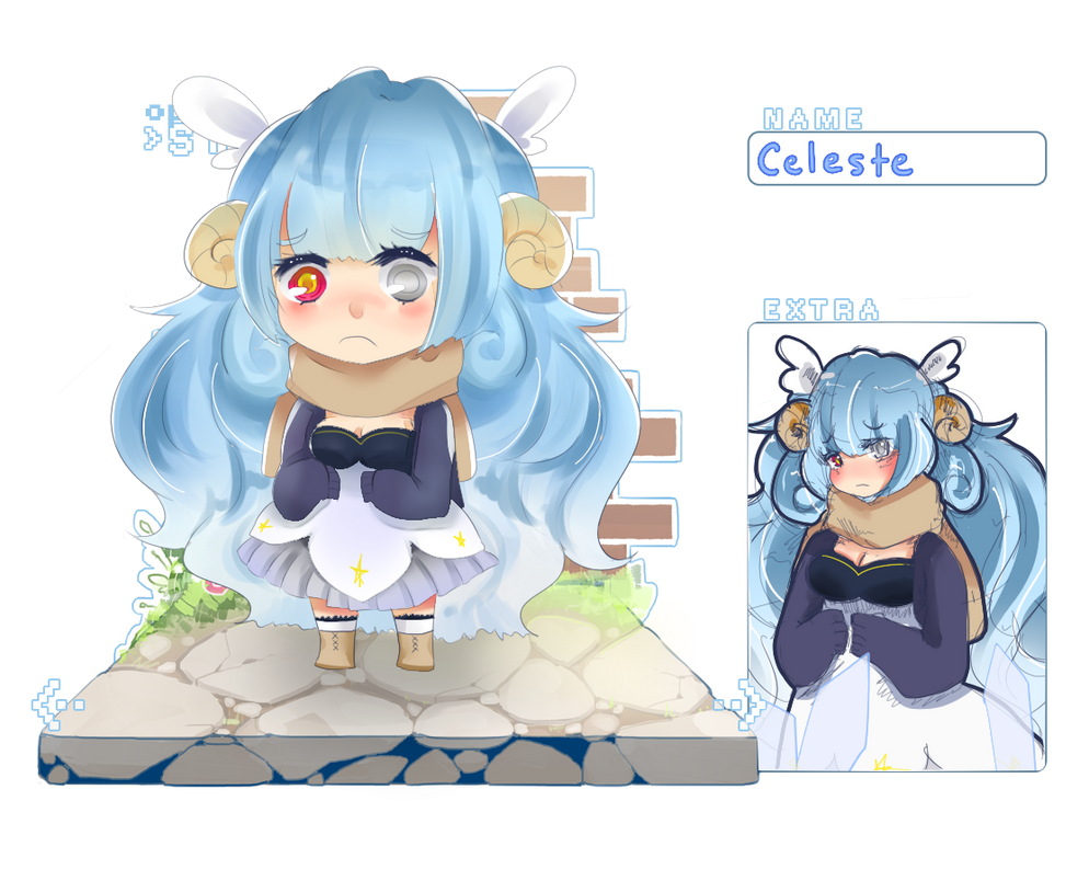 OS : Celeste by meibellum