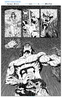 Sample:Red sonja,Conan pag03 by Mateus C. Felipe by mateusfelipecomicart