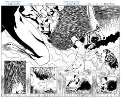 Sample:Red sonja,Conan pag1,2 by Mateus C. Felipe by mateusfelipecomicart