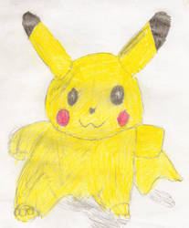 Pikachu Plushie by DalekSec1