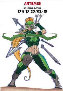 artemis young justice March D'n'D session