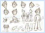 Astro boy -movie char-sheet-
