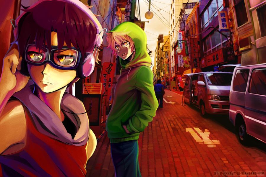 Minato Street by shazy