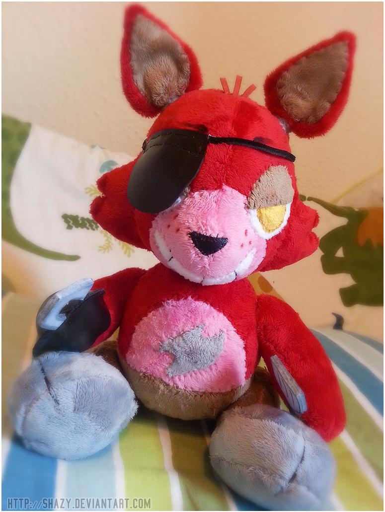 Fnaf foxy plush by shazy on deviantart click for details foxy plush