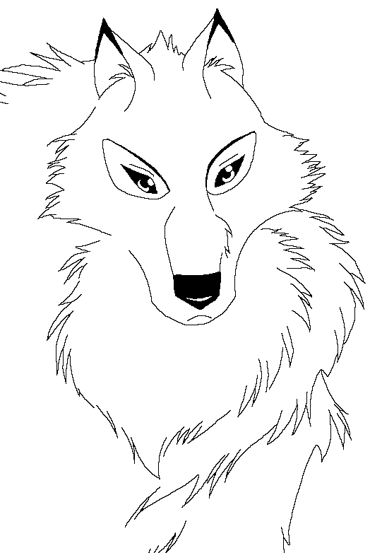 balto howling coloring pages - photo #19
