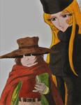 Tetsuro and Maetel