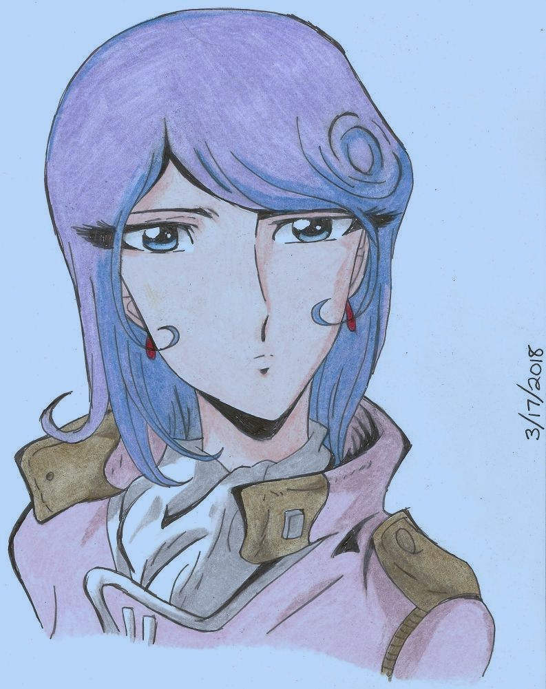 First Officer Ohki by RurouniGemini83