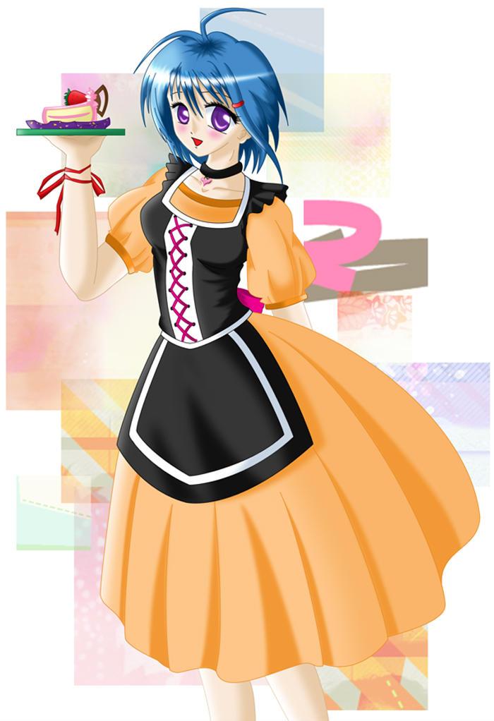 My Waitress XD by Kate-san