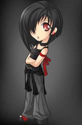 ChibiMania.:Blackey:. by Kate-san