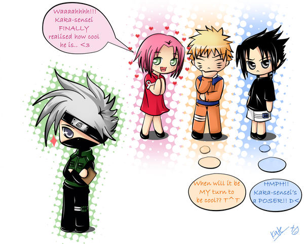 ChibiMania.:Team7:. by Kate-san