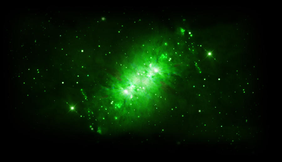 astronomy blue and green backgrounds - photo #21