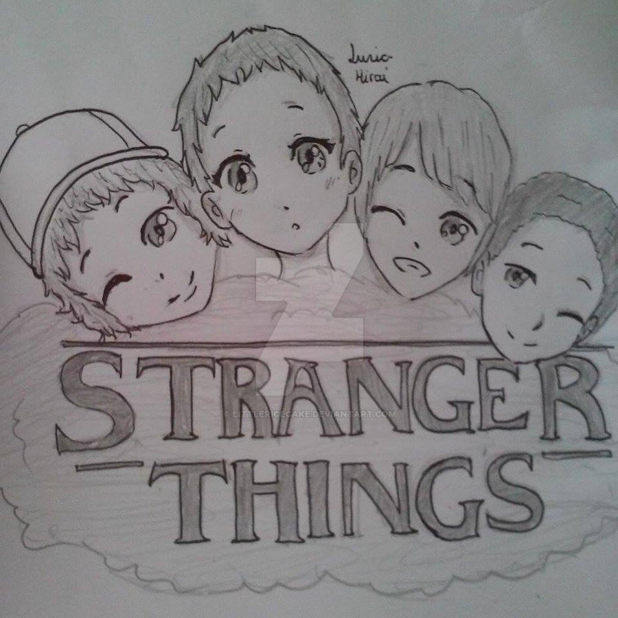 Stranger Things By Littlericecake On DeviantArt
