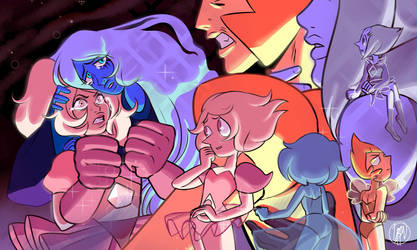 Family Reunion ( Pink Diamond ) Steven universe by L1f3Les