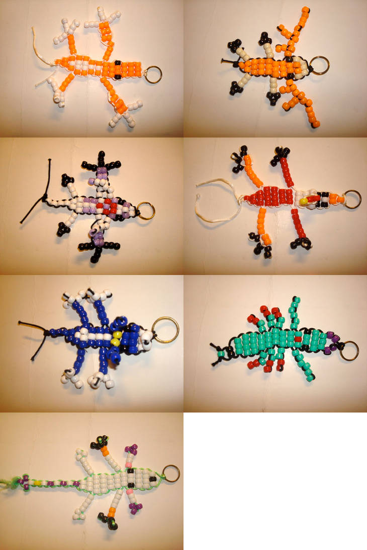 Beadie Buddies-Digimon 2 by Pyrofish