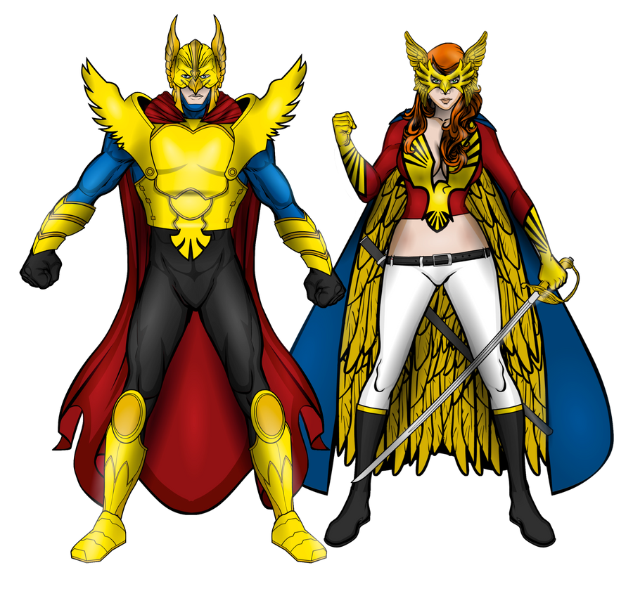 http://fc06.deviantart.net/fs71/i/2012/307/c/a/gold_hawk_and_queen_eagle__redesigns__by_jr19759-d5jv6a7.png