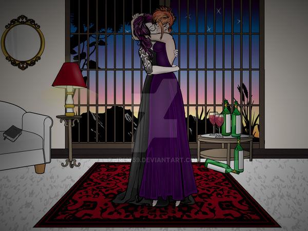 Lili and Danni: The Kiss