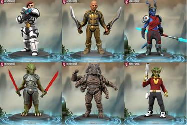 Hero Forge Galactic Guard