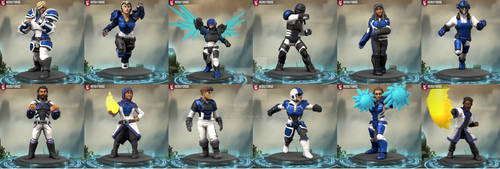 Hero Forge Protectors