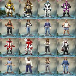 Hero Forge Misc Heroines