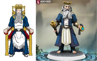 King Alain of Doredain