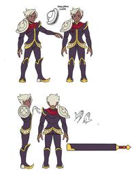 Dhar Model Sheet by IndivisibleRPG