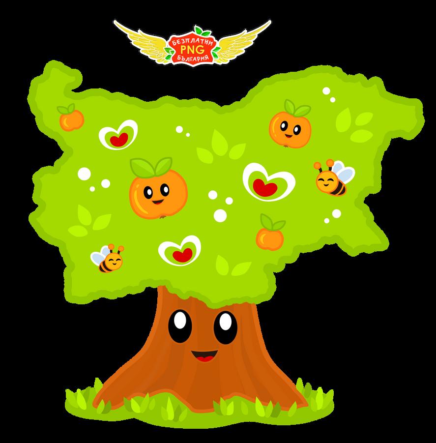 Tree Transparent PNG Sticker