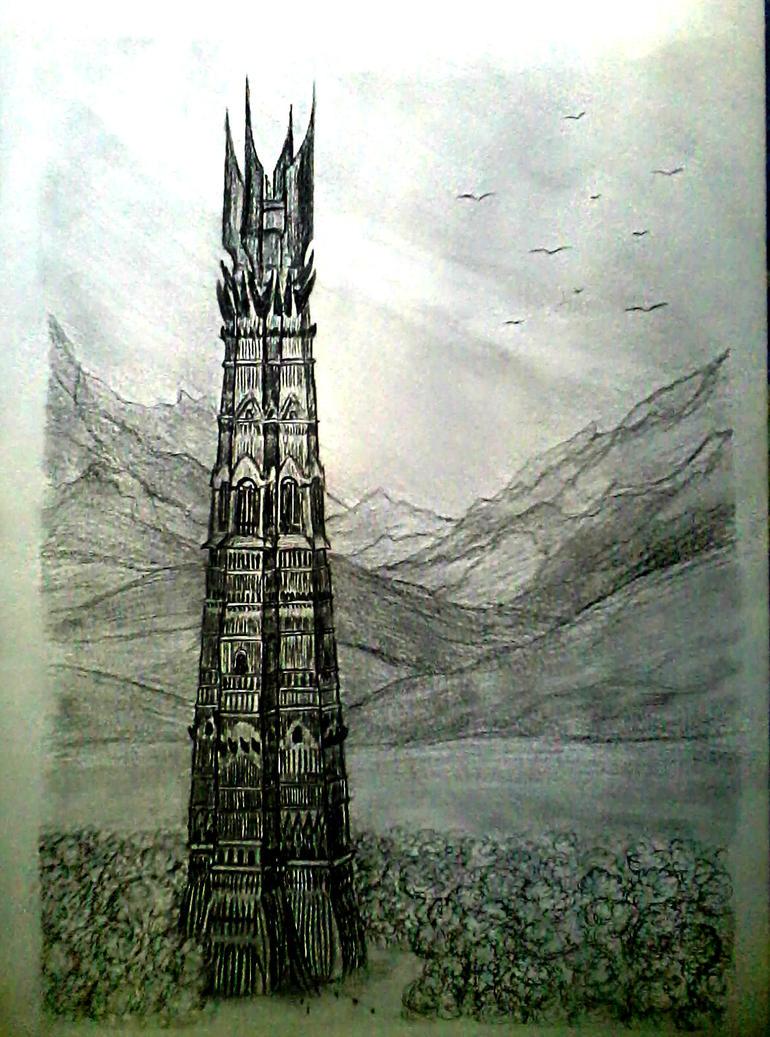 L'Histoire d'Isengard Orthanc_tower_by_smeagolllum-d5l8t3d