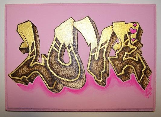 Love Graffiti by tiffworleyLove Graffiti Images