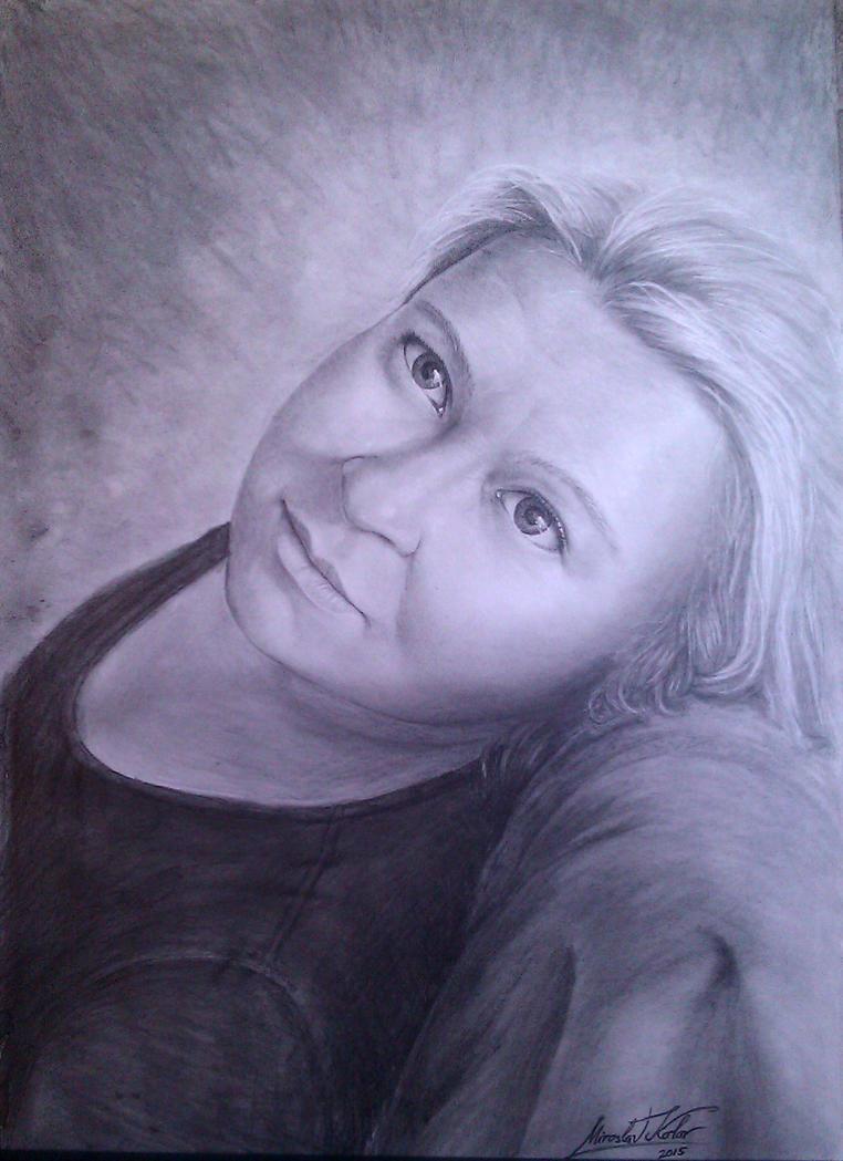 Nevena portret by miroslavk82