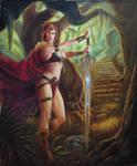Red Sonja by miroslavk82