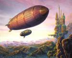 Steampunk Zeppelin