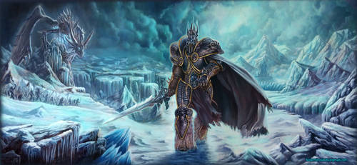 LICH KING by miroslavk82
