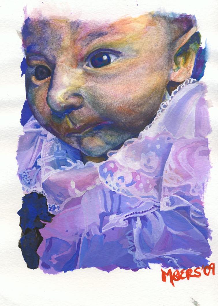 Purple Tulip by virgin-art