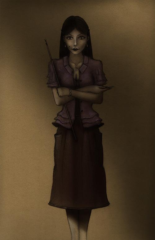 Vampire Teacher by Si1verange1