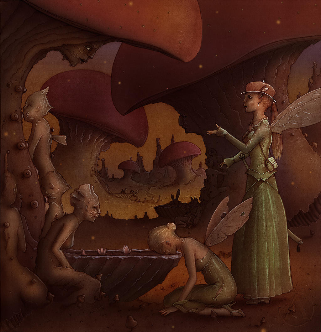 The Lost Fairies by Si1verange1