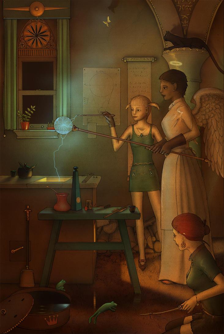 Enchantment Workshop by Si1verange1